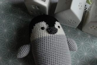Baby penguin amigurumi