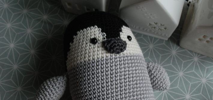 Amigurumi bébé pingouin