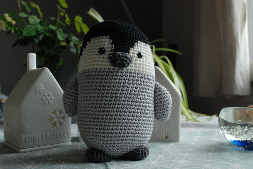 Little crocheted penguin