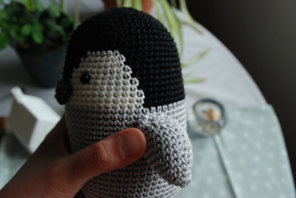 Wings amigurumi baby penguin