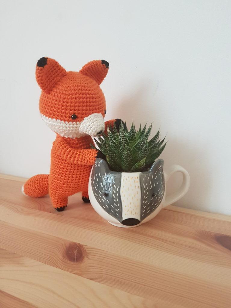 Renard amigurumi crochet