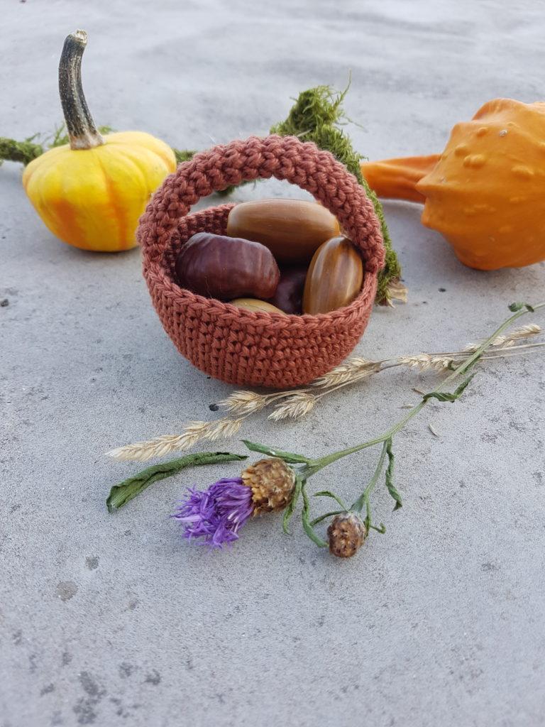 Amigurumi basket free tutorial