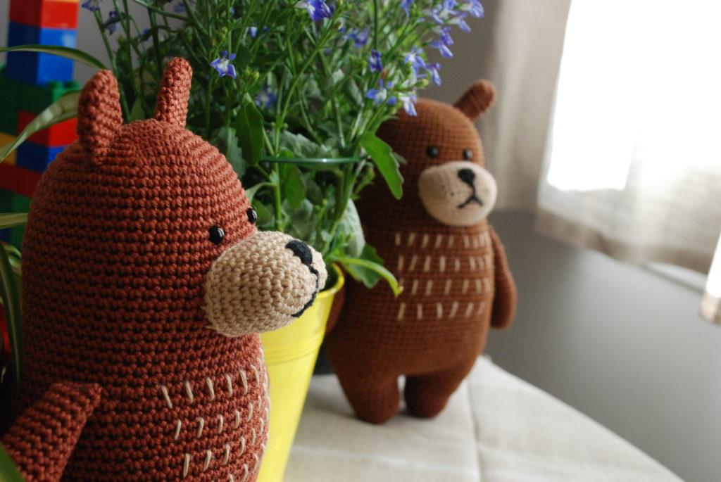 Amigurumi bear crochet