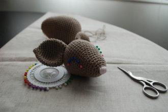 Souris amigurumi crochet