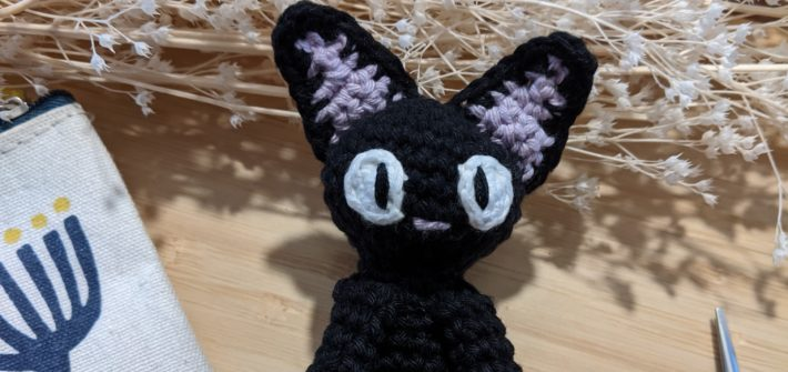 Jiji the cat crochet pattern