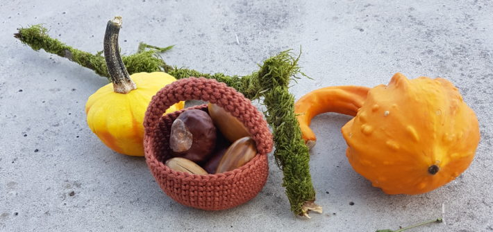 Amigurumi basket free pattern