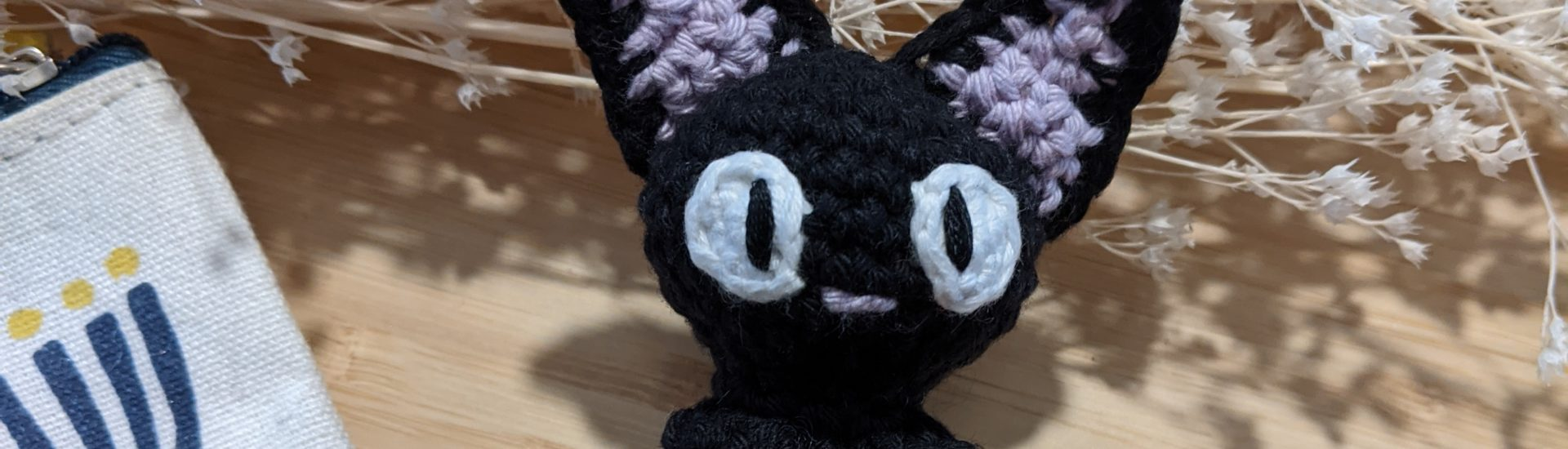 Jiji the cat crochet pattern